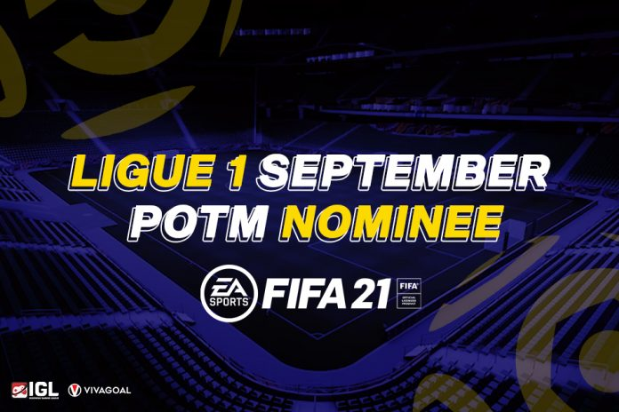 Tak Ada Punggawa Tim Besar dalam Nominasi Ligue 1 Player of the Month Bulan September