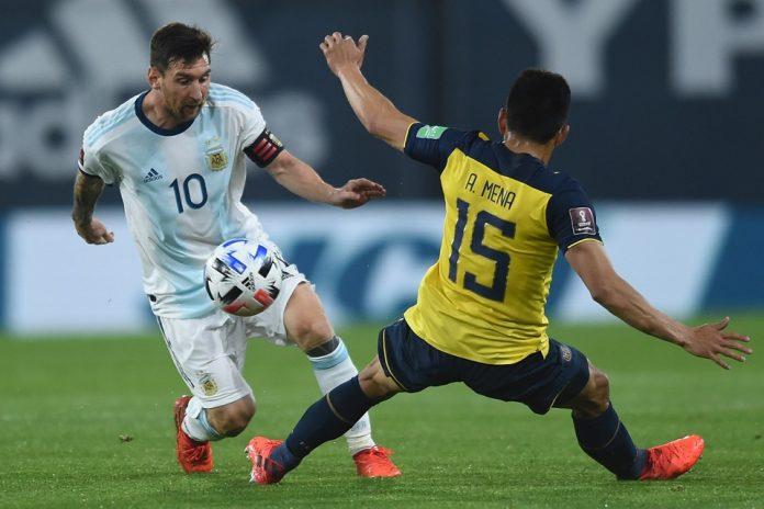 Lionel Messi Timnas Argentina