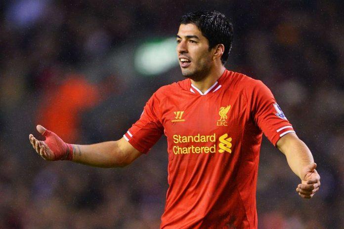 Luis Suarez saat berseragam Liverpool