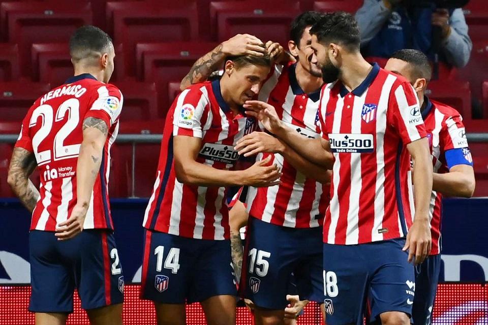 Kalahkan Tim Medioker, Atletico Berhasil Menuju ke Posisi Kedua La Liga