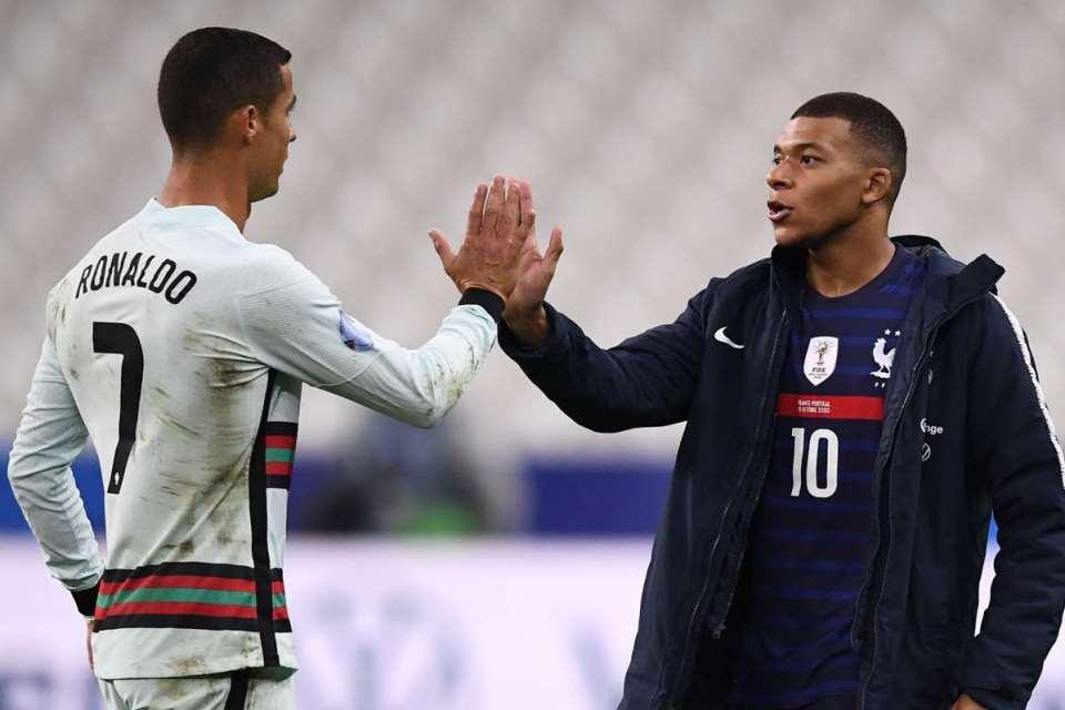 Mbappe Senang Bisa Hadapi Sang Idolanya, Cristiano Ronaldo