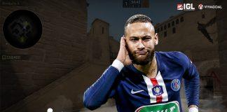 Gaya Bermain CS:GO Neymar Sejajar dengan Pemain Pro!