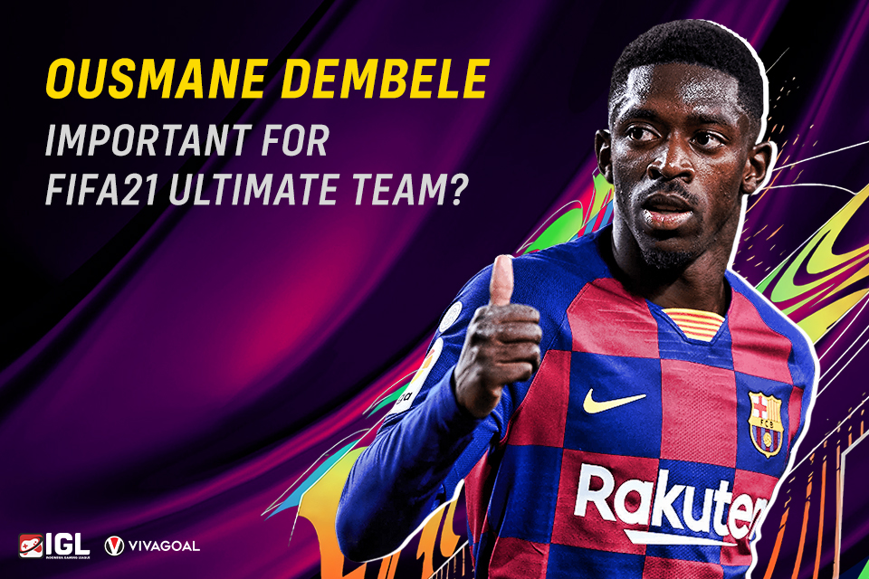 Pentingnya Peran Penyerang Kaca Barcelona di FIFA 21 Ultimate Team