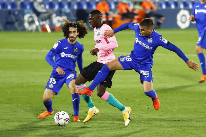 Man of The Match Laga Getafe Melawan Barcelona