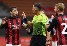 Tak Becus Pimpin Pertandingan, Wasit AC Milan vs AS Roma Dirumahkan