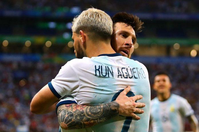Sergio Aguero dan Lionel Messi