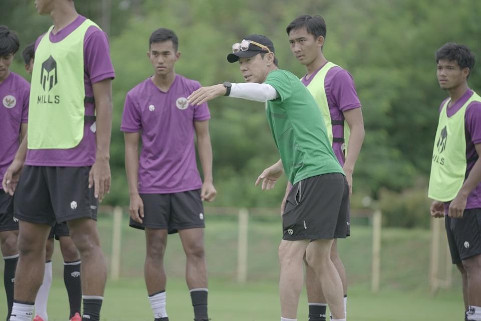 Shin Tae-Yong Puas Timnas U-19 Dapat Lawan Kuat Di Laga Uji Coba
