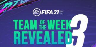 Jajaran Pemain yang Masuk ke dalam TOTW Pekan Ketiga FIFA 21