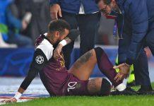 Terus Dipaksakan Main, Neymar Cedera Lagi