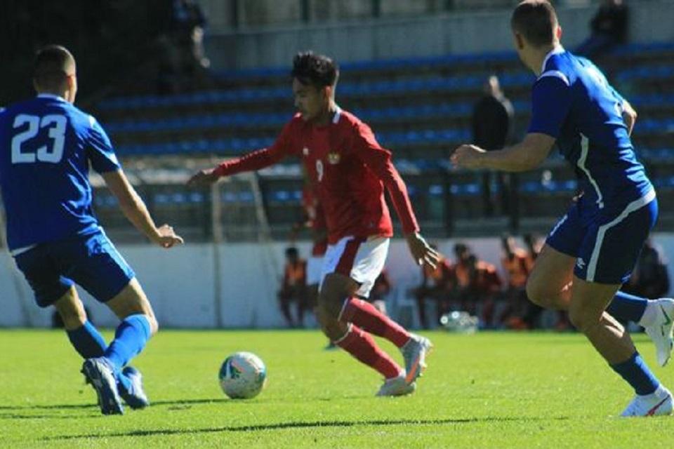 Timnas Indonesia U-19 meraih kemenangan telak atas Makedonia Utara