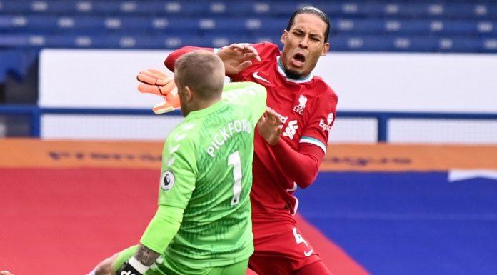 Resmi, Liverpool Coret Van Dijk Dari Susunan Pemain Premier League