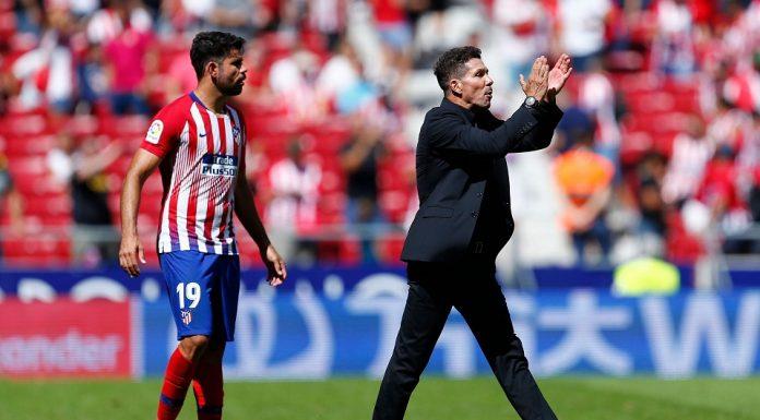 Simeone Enggan Pastikan Masa Depan Diego Costa di Atletico
