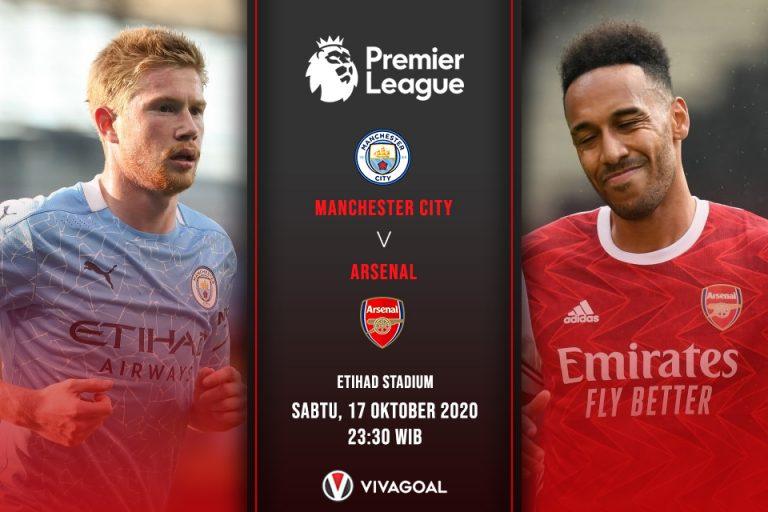 Prediksi City Vs Arsenal: Paham Taktik Guardiola, Bukan Jaminan Arsenal Menang