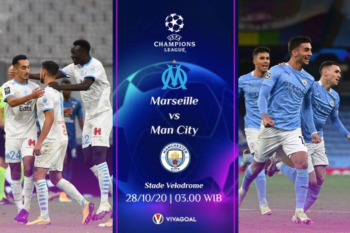 Prediksi Marseille vs Man City: The Citizens Krisis Pemain Depan