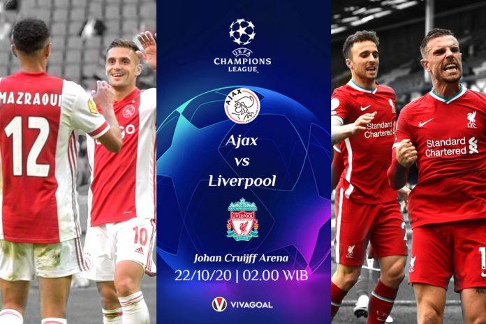 Prediksi Ajax vs Liverpool: Tim Tamu Sulit Menang