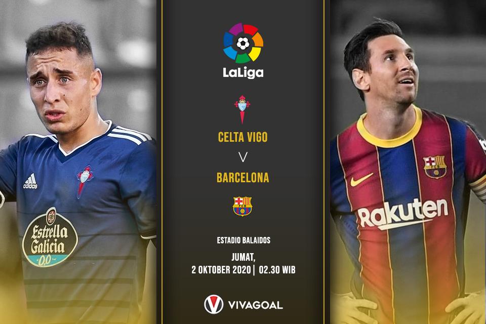 Prediksi Celta Vigo vs Barcelona: Blaugrana Tak Pernah Menang di Balaidos