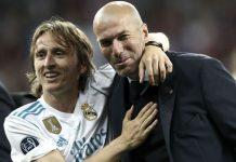 Zidane Luca Modric