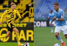 Lazio vs Dortmund: Panggung Adu Tajam Haaland vs Immobile