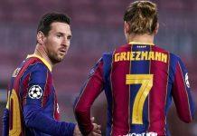 Griezmann Akui Messi Marah kepada Dirinya Karena Hal Ini