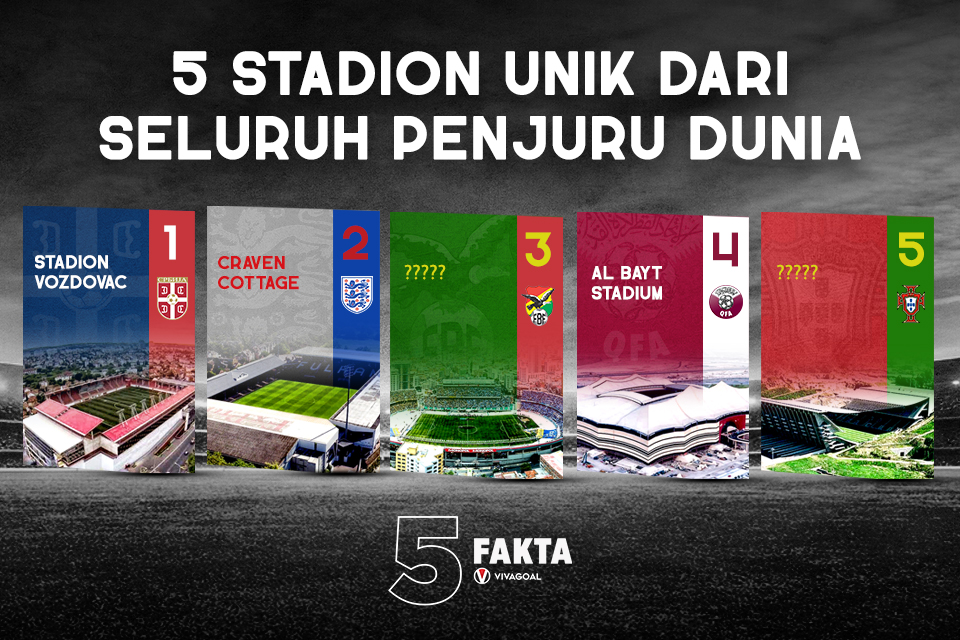 5 Fakta Stadion