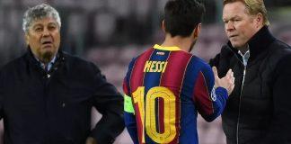 Istirahatkan Messi, Koeman Sindir Padatnya Jadwal