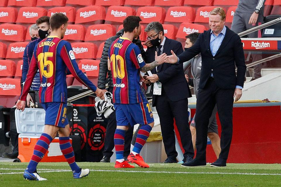 Barcelona Inkonsisten Di LaLiga, Ronald Koeman Keluhkan Kinerja Wasit