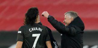 Bawa Man United Menang, Solskjaer Puji Habis Kualitas Cavani