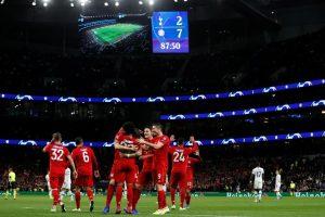 Bayern Tottenham