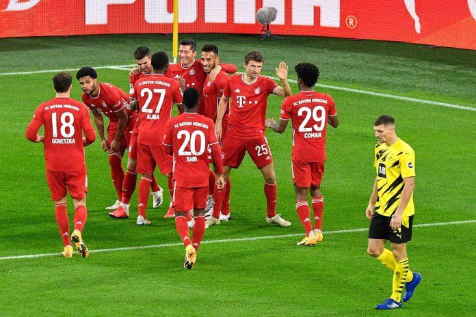 Bayern Munchen berhasil mengandaskan Borussia Dortmund