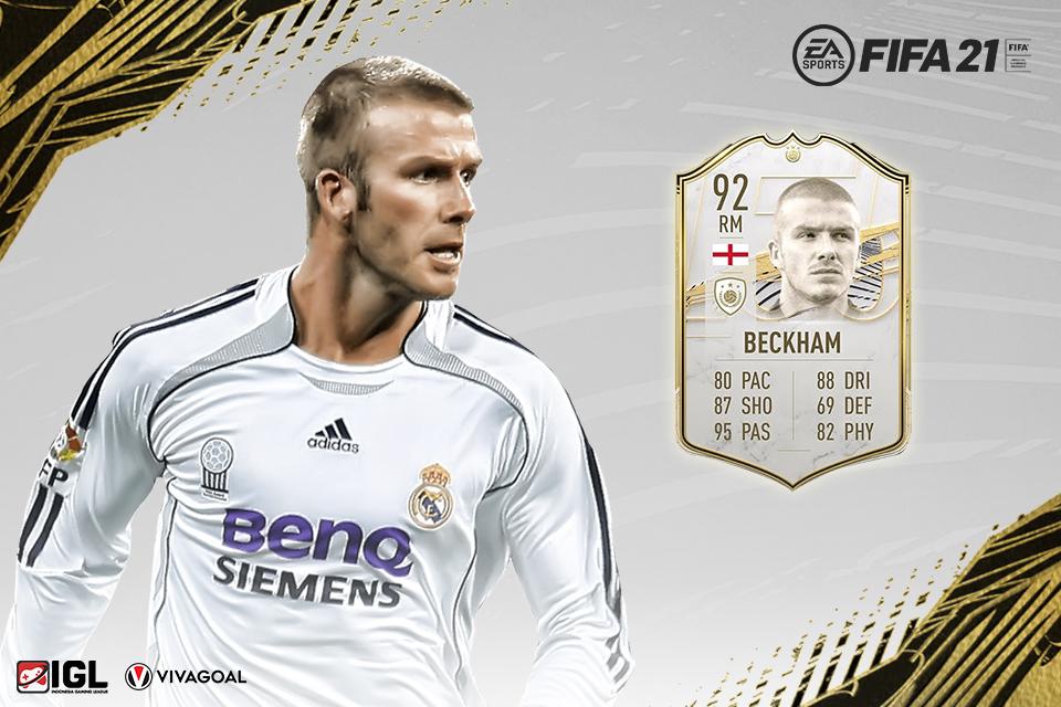David Beckham Bakal Hadir Hadir di FIFA 21 Ultimate Team