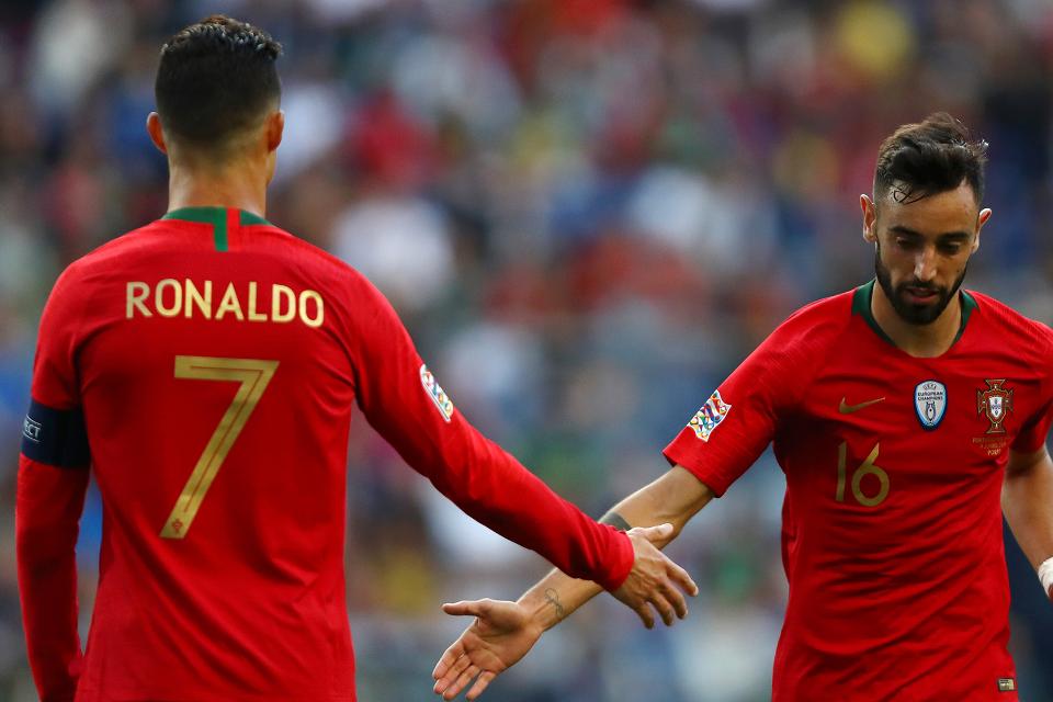 Bermain Bareng Ronaldo, Impian Masa Kecil Bruno Fernandes yang Jadi Kenyataan