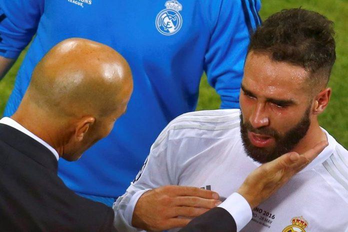 Tolak Joachim Loew, Carvajal: Pemain Madrid Setia Sampai Mati Tuk Zidane