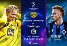 Dortmund vs Brugge; Prediksi & Link Live Streaming