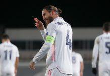 Super! Sergio Ramos Tembus 100 Gol di Real Madrid