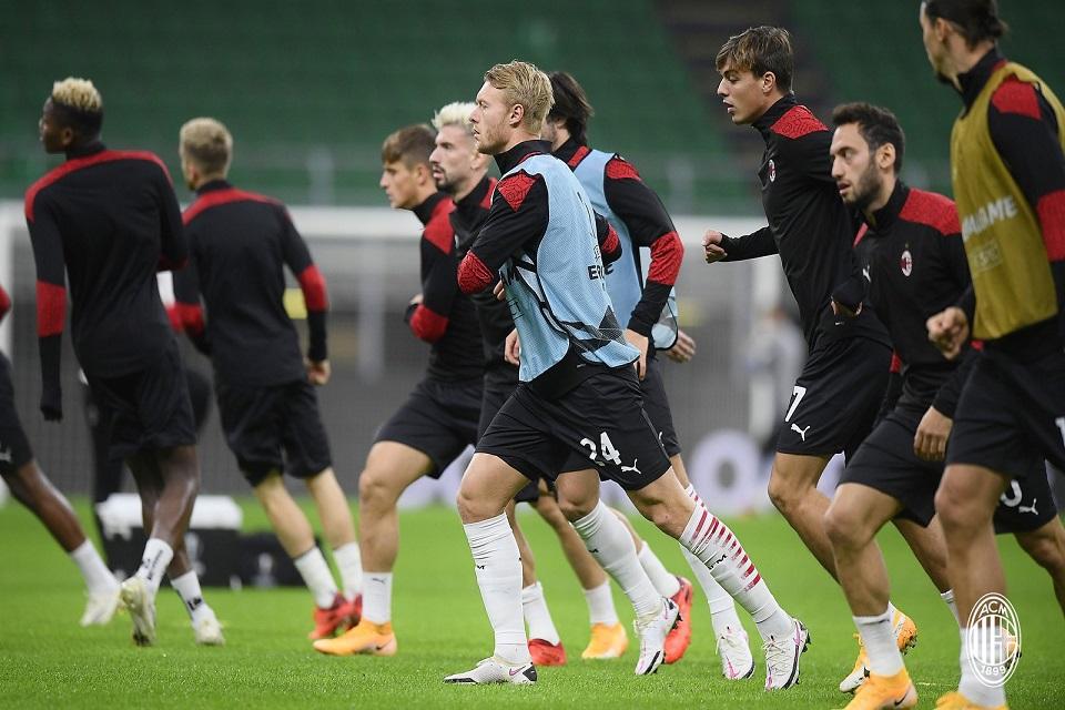 Sedang Berada di Puncak, Rotasi Jadi Pilihan AC Milan di Laga Kontra Lille
