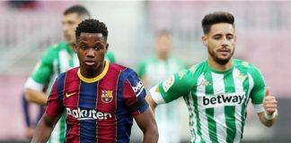 Kemenangan Barcelona Harus Dibayar Dengan Absennya Ansu Fati Selama 6 Bulan