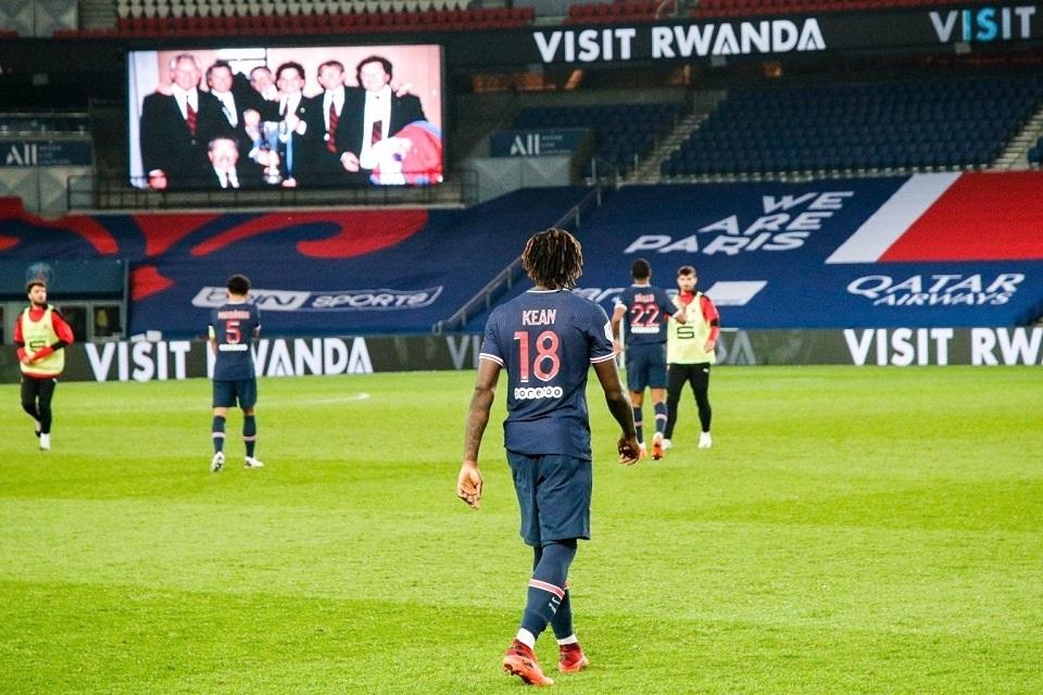 Tanpa Neymar dan Mbappe, Moise Kean Bawa PSG Nyaman di Puncak Klasemen