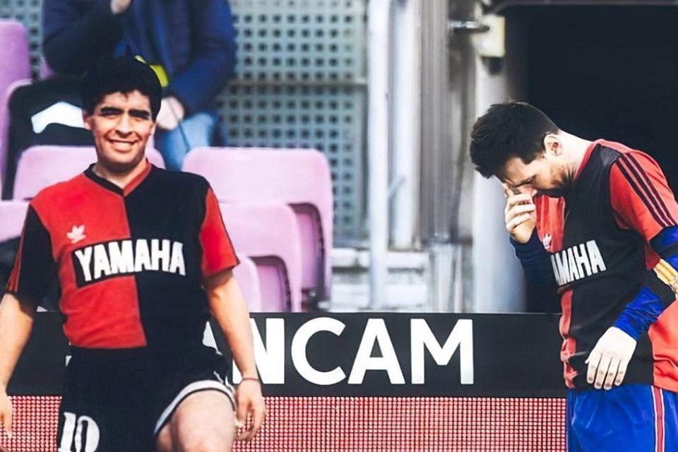 Alasan Messi Bikin Gol Identik Dengan Maradona Ke Gawang Osasuna