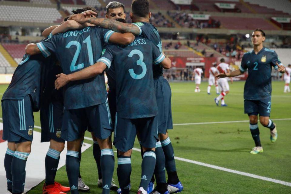 Gasak Peru 2-0, Argentina Buntuti Brasil Di Klasemen Kualifikasi Piala Dunia 2022