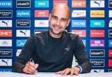 Teken Kontrak Baru, Guardiola Pecahkan Rekor Pribadi