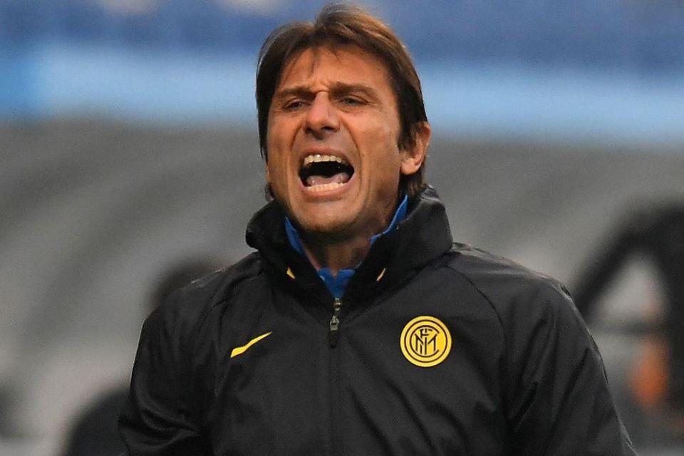 Conte Pidato di Ruang Ganti, Inter Jadi Semangat