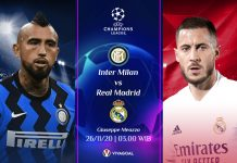 Inter Milan vs Real Madrid; Prediksi Pertandingan dan Link Live Streaming