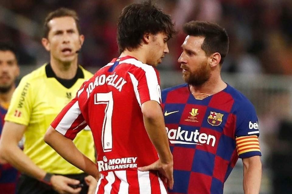 Messi Joao Felix