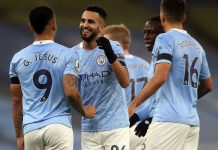 Mahrez Hattrick, City Gasak Burnley 5-0