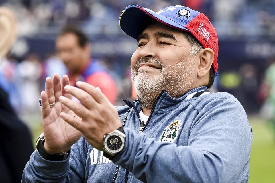 Striker Ini Pede Bisa Ikuti Jejak Maradona di Napoli