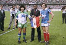 Maradona Platini Pele