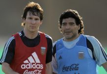 Diam-Diam, Messi Pernah Main Bareng Maradona!