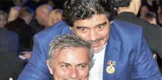 Mourinho-Maradona