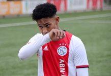 Noah Gesser, pemain keturunan Indoensia yang bermain di Ajax Amsterdam