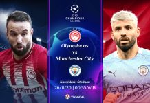 Olympiakos Vs Man City: Prediksi, Line Up dan Live Streaming